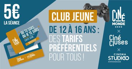 CLUB JEUNES 12 - 16 ANS