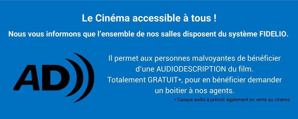 Le Cinéma accessible à tous !